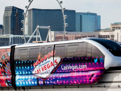 Las Vegas Monorail partners with NXP Semiconductors to offer Monorail fare on CES Badges