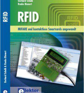 """The book """"RFID – MIFARE und kontaktlose Smartcards angewandt"""""""