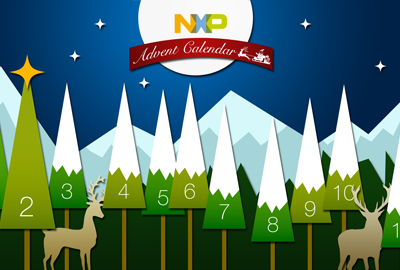 The NXP advent calendar is online!