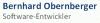 Bernhard Obernberger Logo for NXP Semiconductors MIFARE Partner Webpage