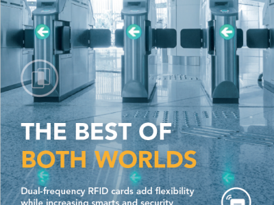 Whitepaper: Added flexibility and security with dual-frequency RFID cards