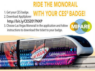 NXP Delivers the Ultimate Smart Event Experience – All-in-One CES Badge