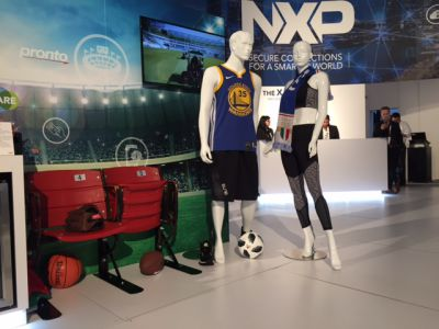 MIFARE and NFC-powered Smart Stadium experience at CES 2018