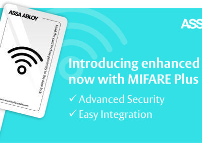 ASSA ABLOY Hospitality Enhances its VingeCard RFID Door Locks and Now Supports NXP's MIFARE Plus EV1 ICs
