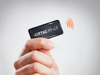 ISBC Group developed AIRTAG® HF+LF, the universal RFID identifier for Smart City services
